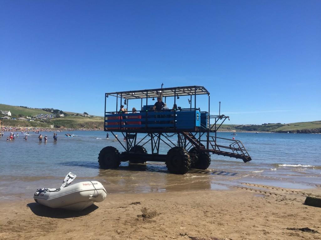 ashore at burgh island