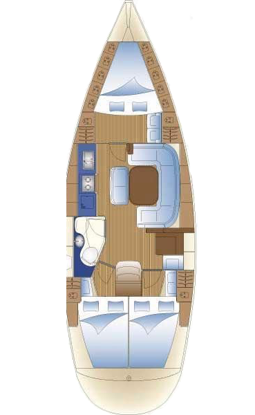 bavaria 38 interior 2