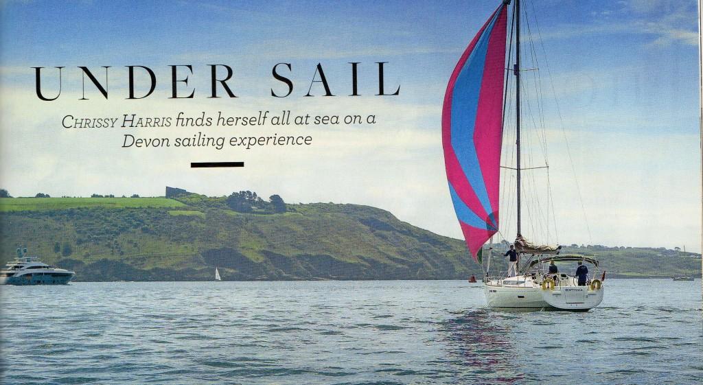 Sailing in Devon