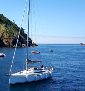 sail to the Channel Islands